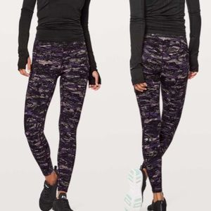 Lululemon Speed up tight purple running gym pants